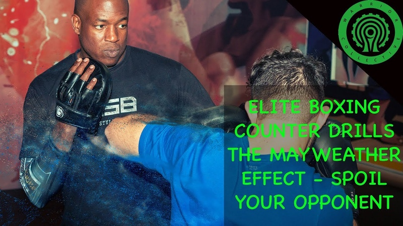 Elite Boxing Counter Drills - The Mayweather Effect / Spoiling your Opponent