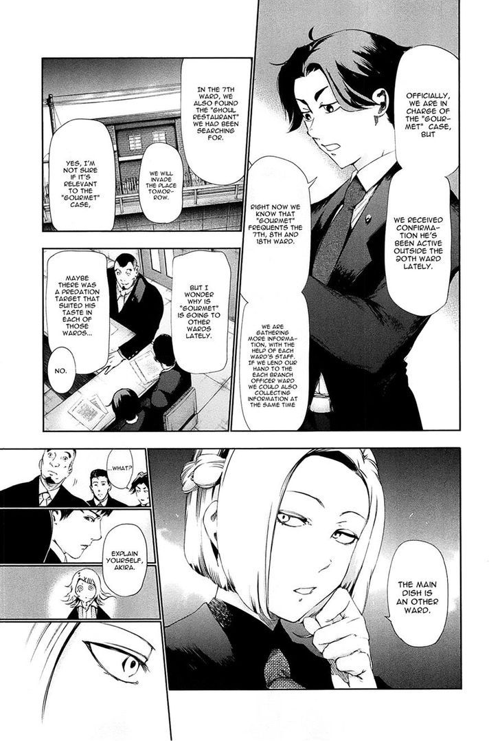 Tokyo Ghoul, Vol.9 Chapter 81 Subordinate, image #5
