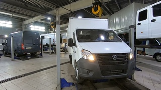 Усиление рессор на автомобиле ГАЗель NEXT