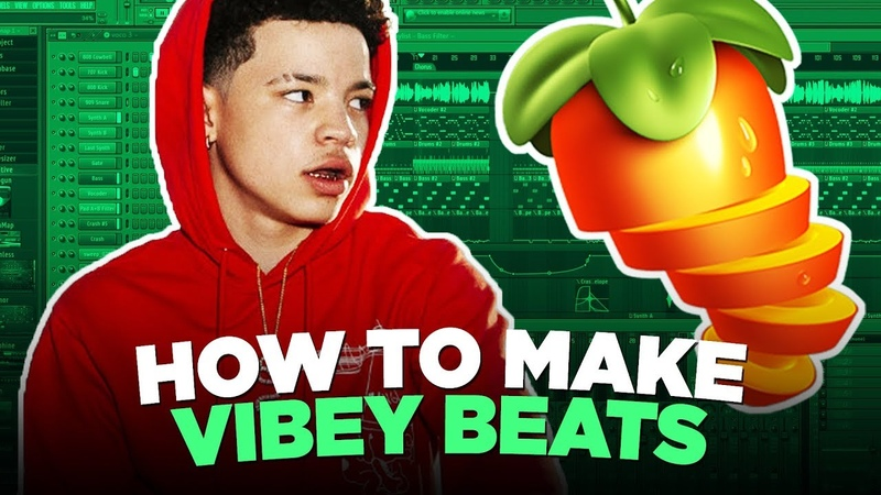 MAKING A VIBEY BEAT FROM SCRATCH IN FL STUDIO 20 | KC Supreme
