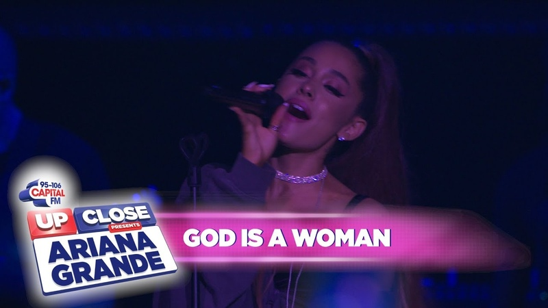 Ariana Grande 'God is a woman' Live At Capital Up Close