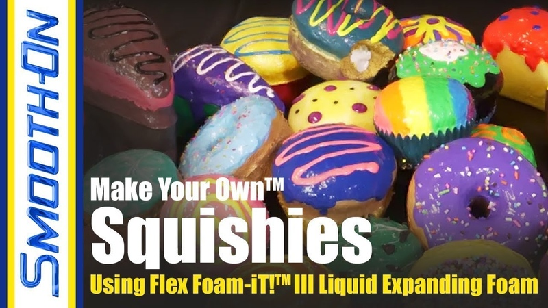 DIY Poly Foam Squishies Using FlexFoam iT III Expanding Foam
