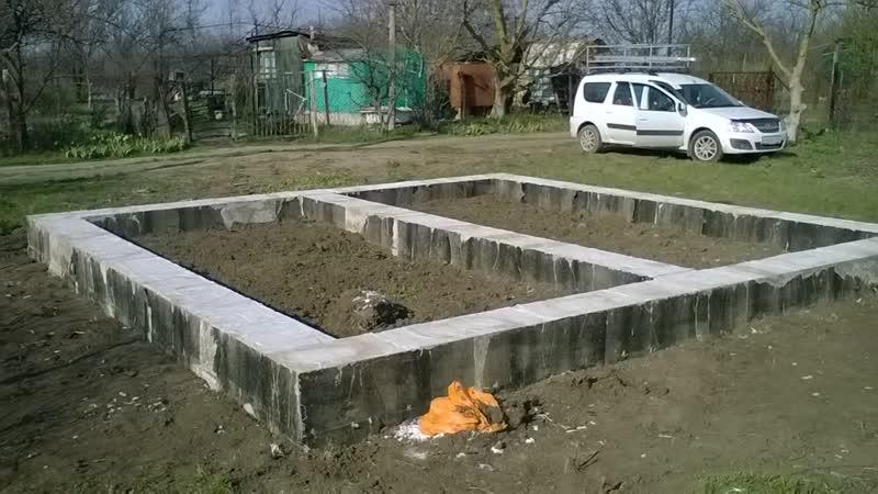 Фундамент дома 6 на 6