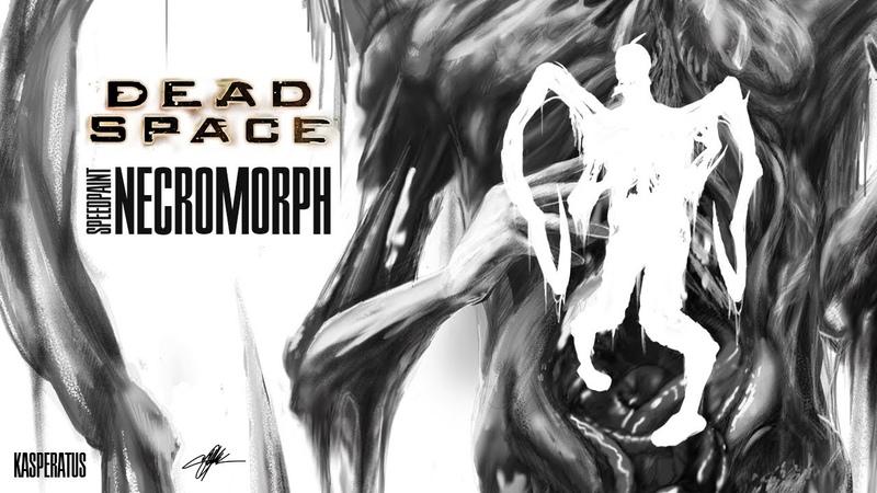 DEAD SPACE SPEEDPAINT NECROMORPH