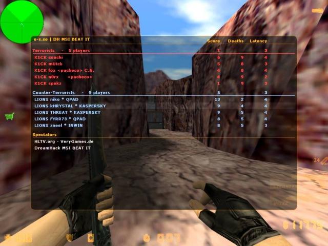 KHRYSTAL vs. k1ck @DreamHack Winter 2011