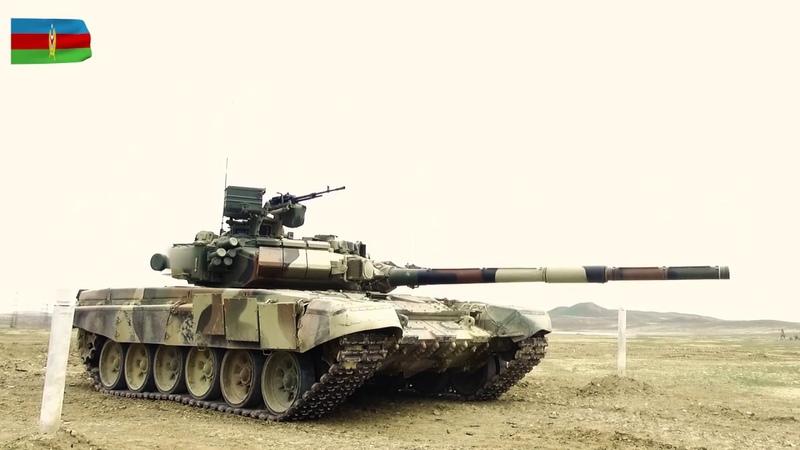 Tank heyətlərinin döyüş hazırlığı yoxlanılır