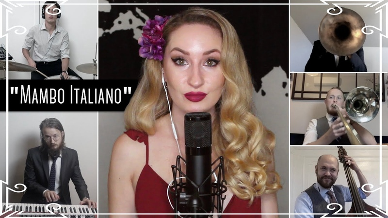 "Mambo Italiano"" Latin Jazz Cover by Robyn Adele Anderson"