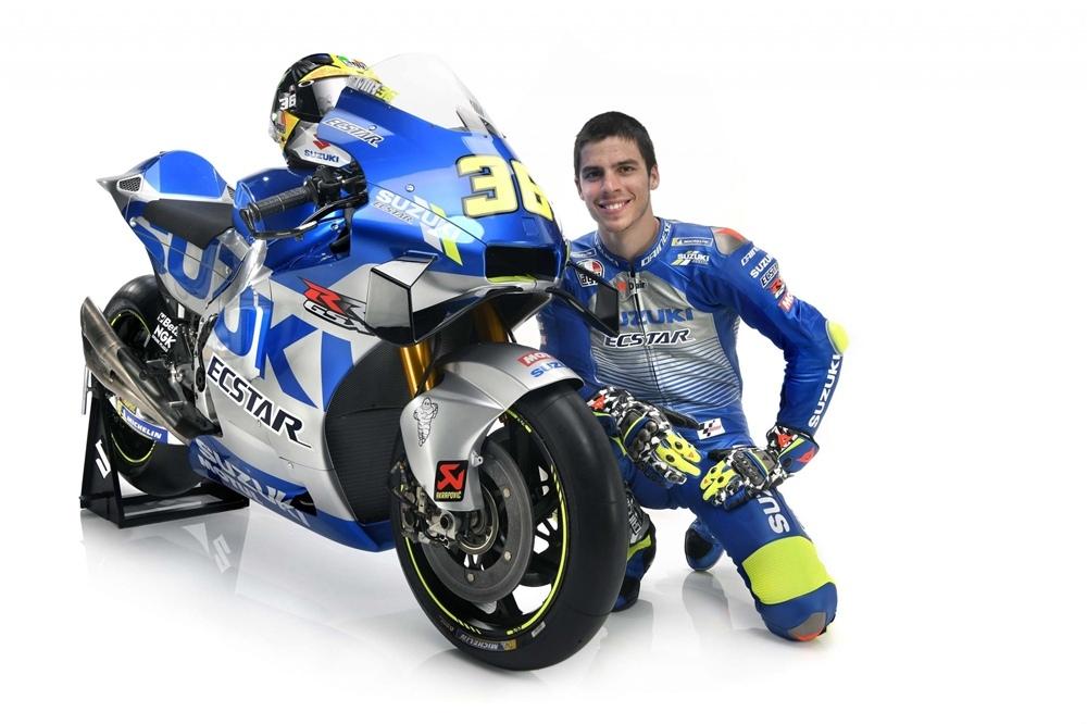 Представили расцветку гоночного мотоцикла Suzuki GSX-RR MotoGP 2020