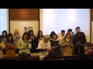 Конкурс русской песни в университете Китайской культуры