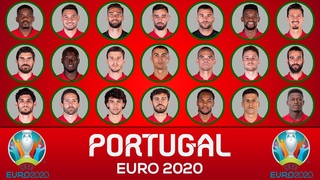 PORTUGAL EURO 2020 SQUAD : THE OFFICIAL 26-MAN TEAM