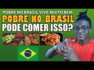 5 COMIDAS de POBRES no BRASIL que só RICOS COMEM em MOÇAMBIQUE