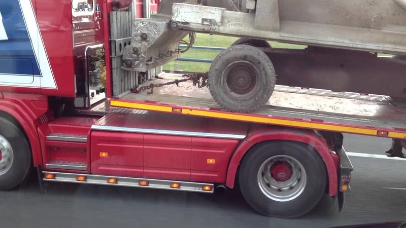 Scania 164 480 V8 Cornely D Kort maar krachtig