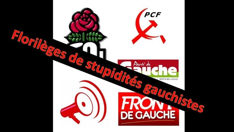 FLORILÈGES DE STUPIDITES GAUCHISTES - ZAP