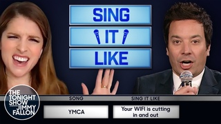 Sing It Like with Anna Kendrick   The Tonight Show Starring Jimmy Fallon