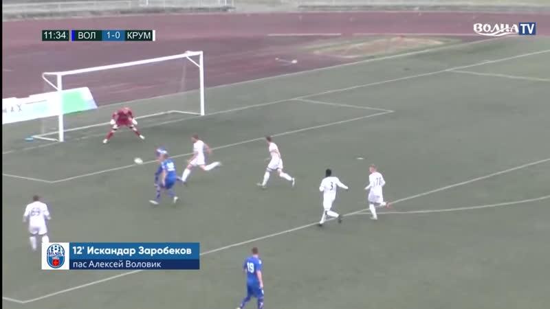 Дубль Искандара Заробекова за белорусскую Волну в первой лиге 10 10 2020