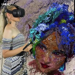 Painting 3D art in virtual reality... I could watch for hours 