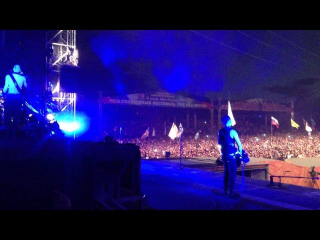 Rammsten Intro Rammstein Рок Над Волгой 2013 Съёмка со сцены