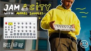 Bass, Hip-hop 🌲 JAM CITY with @Elektron  Model Samples 🙂