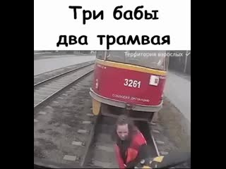 Три бабы два трамвая