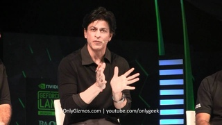 SRK Q&A At Nvidia  Graphics Card Launch