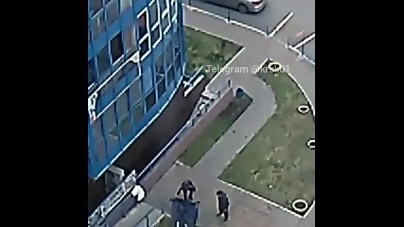 В Белых росах женщина сорвалась с балкона