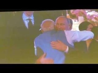 Владимир Путин Встретил Моди на ужине АСЕАН
