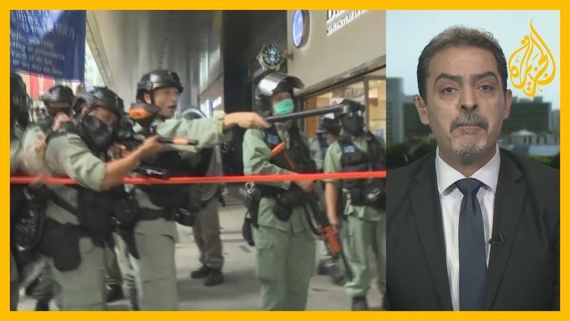 على وقع مظاهرات معارضة في هونغ كونغ، البرلمان الصيني يقر قانون الأمن القومي في الجزيرة