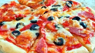 Такой Пиццы Вы Ещё не Пробовали. Пицца на Дрожжевом Тесте🍕Ольгины Рецепты.
