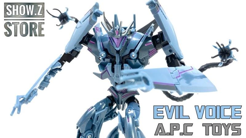 APC Toys EVIL VOICE Transformers Prime SOUNDWAVE Review