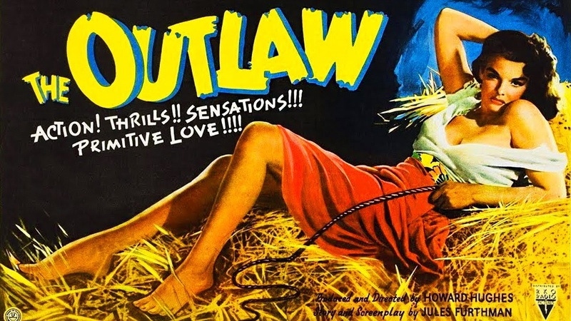 The Outlaw 1943 Jane Russell Western old movie