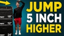 10 MIN VERTICAL JUMP WORKOUT (NO EQUIPMENT EXERCISES TO JUMP HIGHER!)