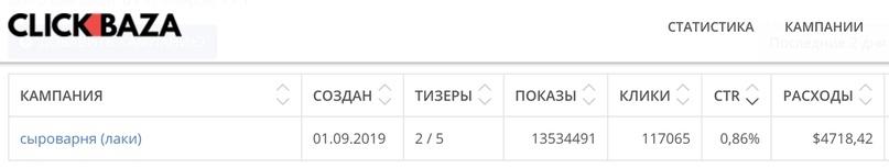 Кейс: «Сыроварня русский фермер» 108595 руб. за 2 месяца, изображение №6