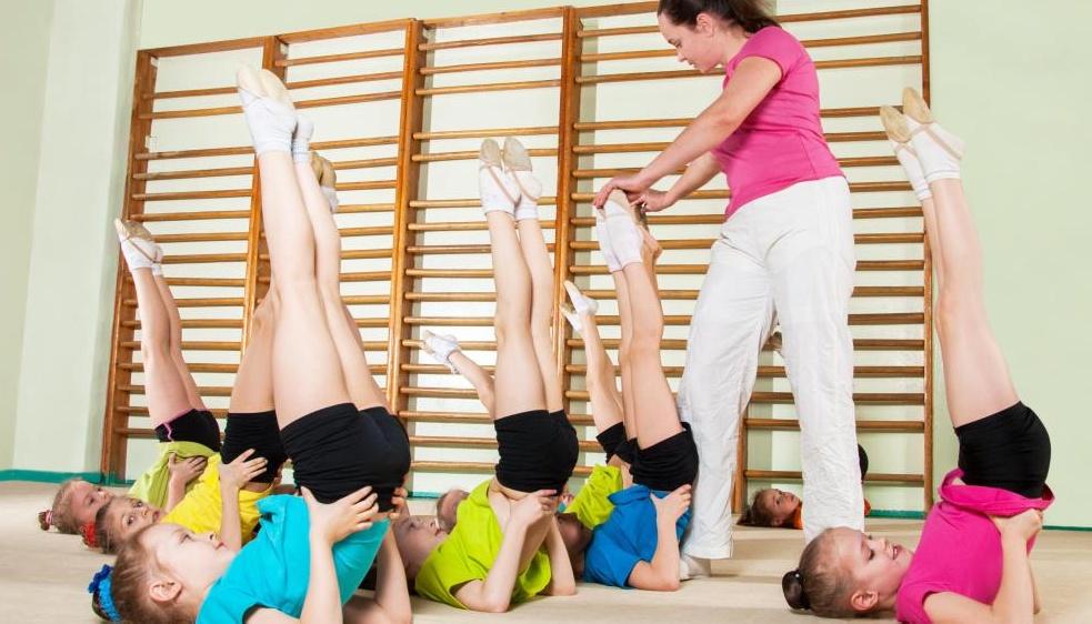 Преподаватели физкультуры часто имеют степень по кинезиологии, чтобы лучше помогать своим ученикам.