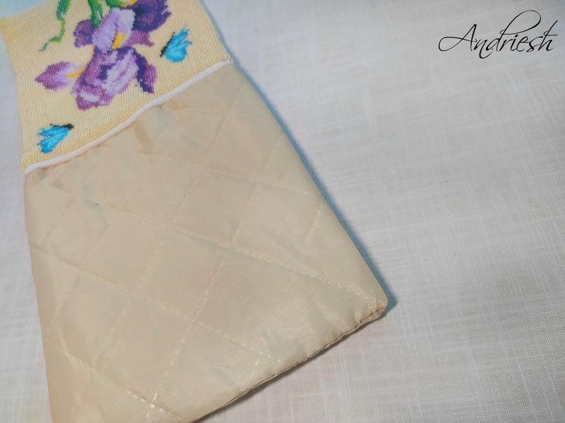 Как я сшиваю донышко и вшиваю в сумки подклад и фермуар., изображение №21