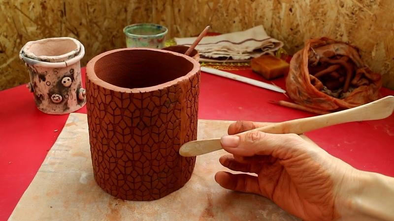 Мастер класс по лепке из глины Способы формирования керамического изделия Пласт