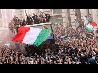 Euro2020, dal Quirinale alla parata tra i tifosi: il videoracconto della festa degli Azzurri
