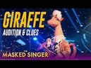 The Masked Singer Giraffe: Audition Performance Clues and Guesses!