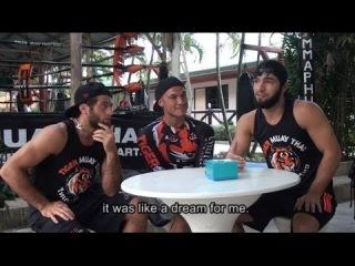 UFC's new stars training at Phuket's Tiger Muay Thai