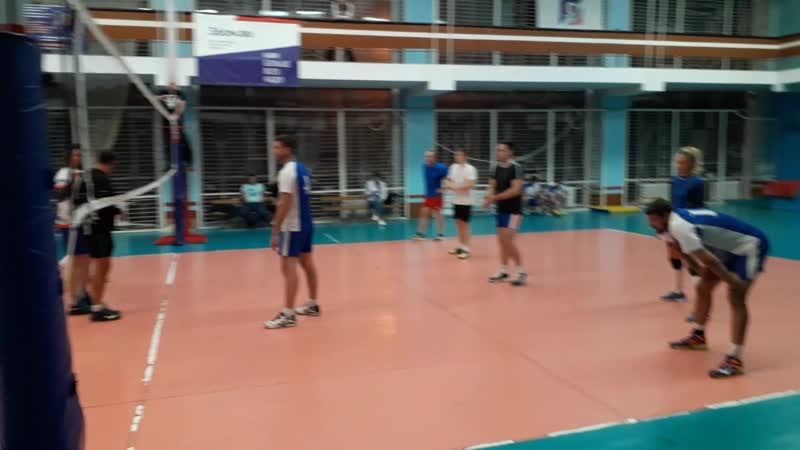 Волейбол Суперкубок 2020 Турнир 2 шанса РВК ПРОКУРАТУРА Фрагмент 2 Вторая партия концовка
