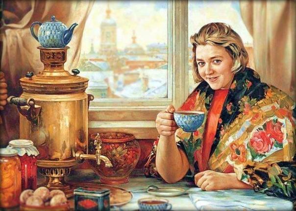 История появления чая в России Русский стол и сельская жизнь сегодня неотделимо ассоциируются с чаепитием, самоваром и задушевными беседами долгими зимними вечерами. Но чай, столь любимый
