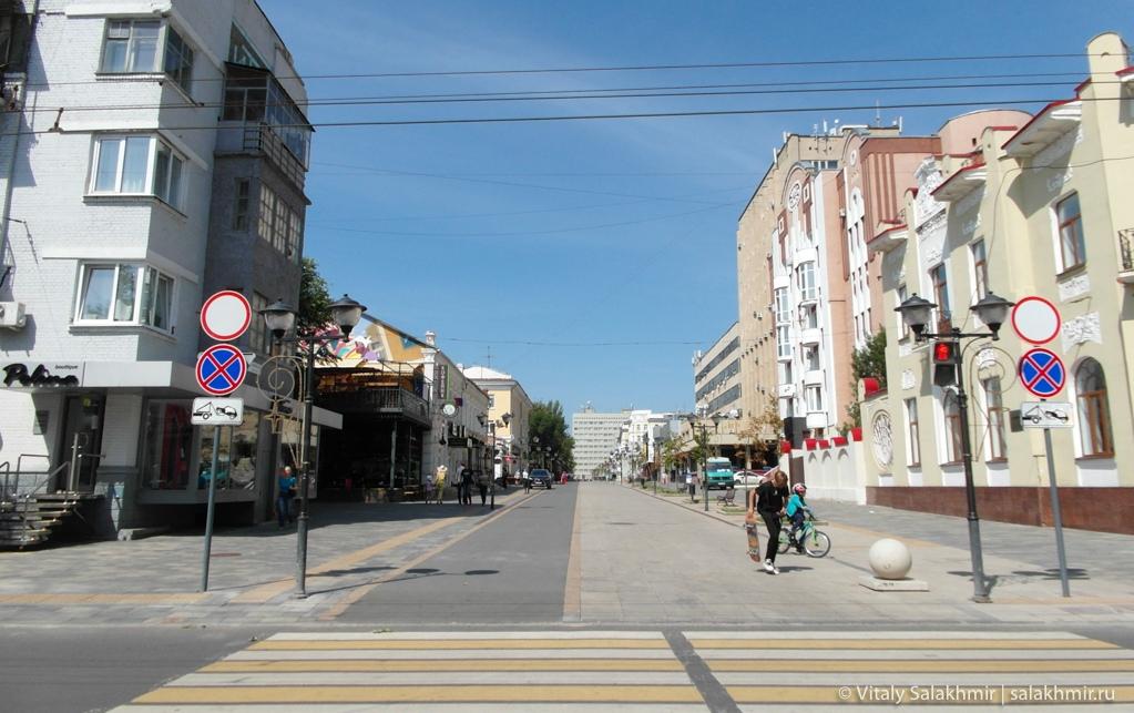Пешеходные улицы Саратова 2020
