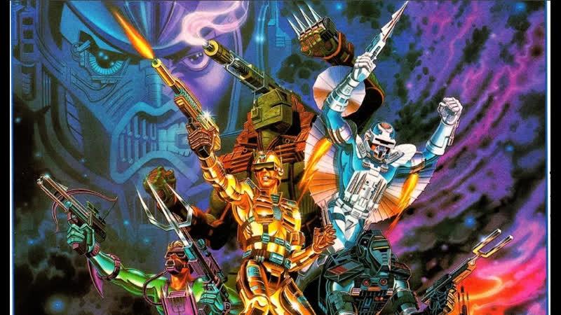 VHS навсегда Капитан Пауэр и Солдаты будущего 1987