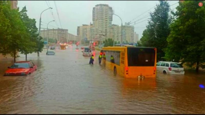 Сильнейше наводнение в Минске Беларусь Потоп в Минске Минск затопило катаклизмы минск