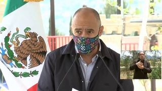 Inauguración primera etapa  Parque Cuitláhuac, desde Iztapalapa Andres Manuel López Obrador