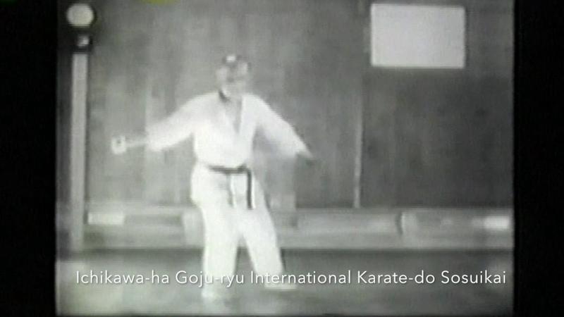 Izumigawa Kanki Sensei Performing Saifa Kata
