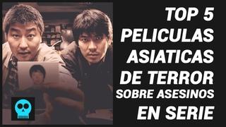 TOP 5 Peliculas Asiáticas de Terror Sobre Asesinos en Serie / Joudy3X