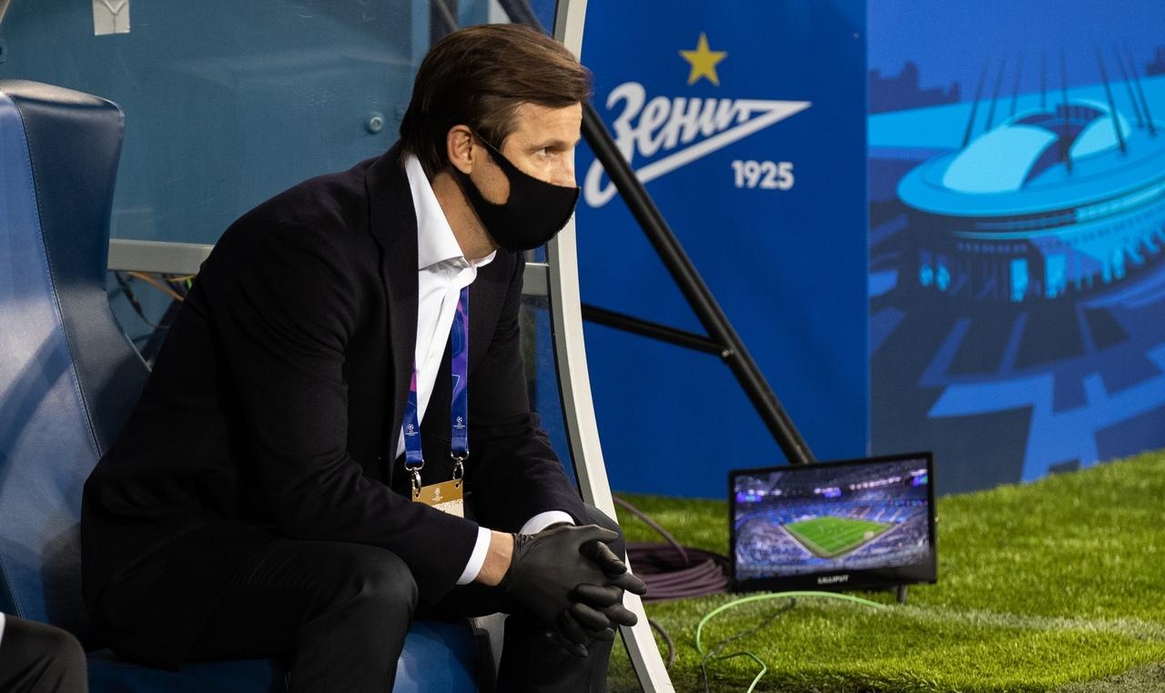 Зенит - Брюгге, 1:2. Сергей Семак