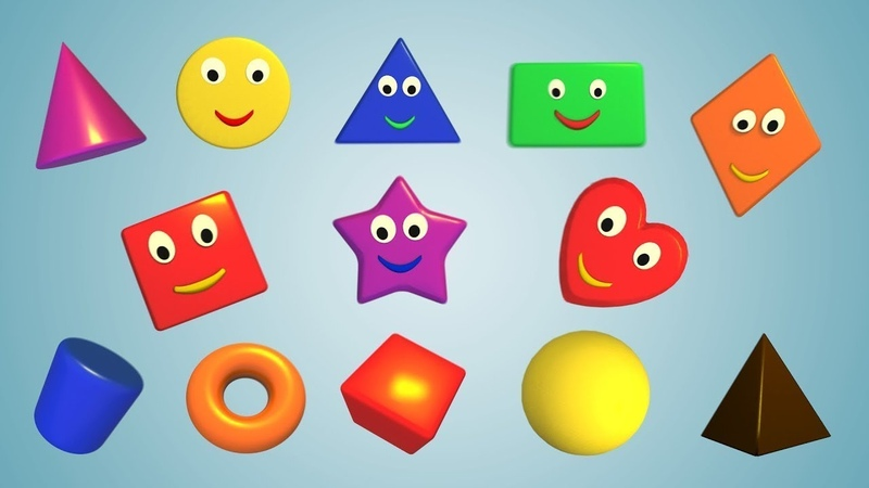 Геометричні фігури для дітей мультики українською мовою