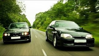 М. Мощь одной буквы  LOTUS Omega против BMW M5 E34 и Mercedes E500/500E!