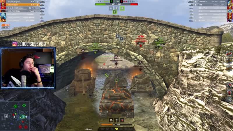 WoT Blitz Бой ЧИСТО ПОРЖАТЬ ● Танкист застрял в лифте и ЗАТАЩИЛ World of Tanks Blitz WoTB
